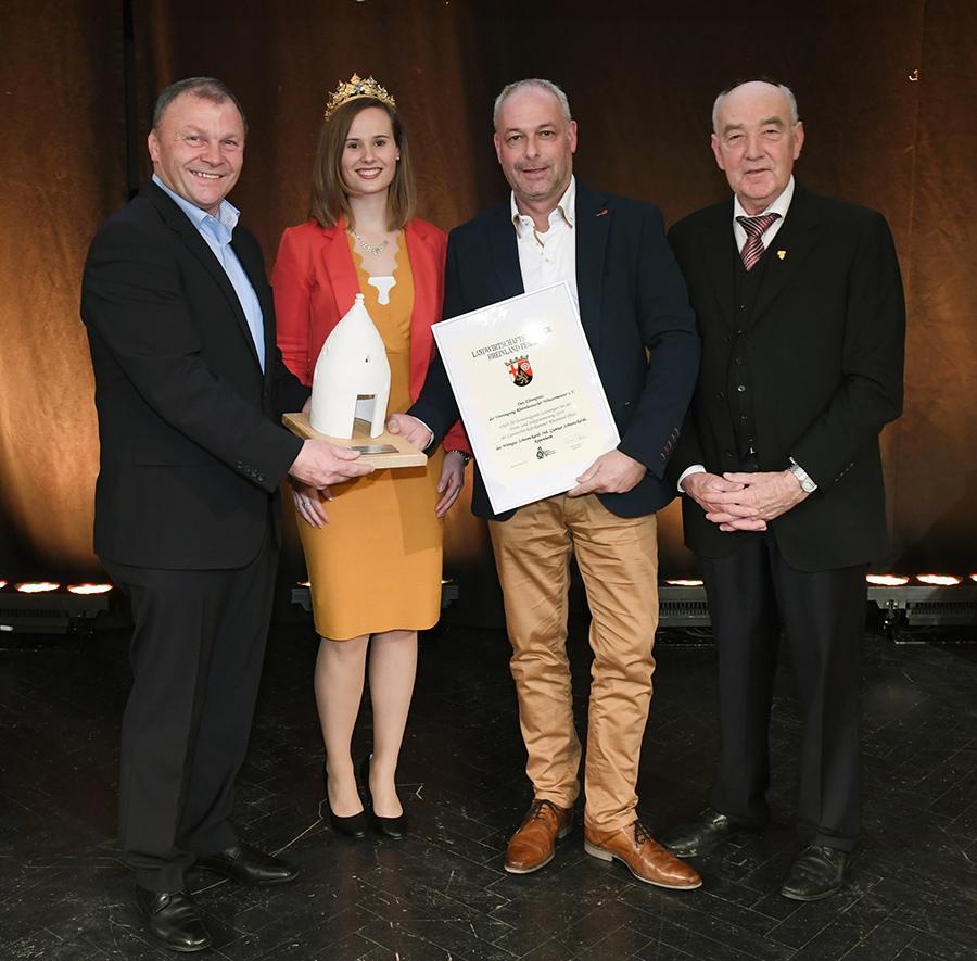 Staatsehrenpreis 2019 für Weingut Schweickardt